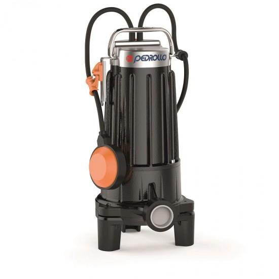 Pompa submersibila cu tocator Pedrollo TRITUS TRm 0.75  pentru canalizari ape murdare